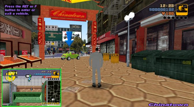 Someone is remaking the Gameboy Advance version of Grand Theft Auto in GTA 3, beta version available