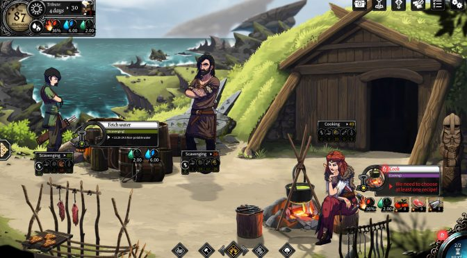 Demo available for survival/management game with RPG elements, Dead In Vinland