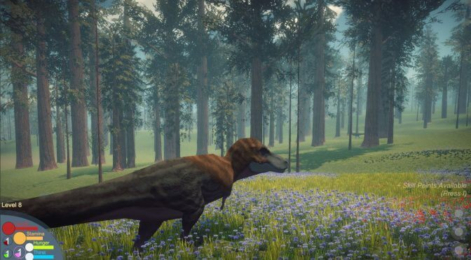 Dinosaurs Prehistoric Survivors is a new survival game in which you play as a dinosaur