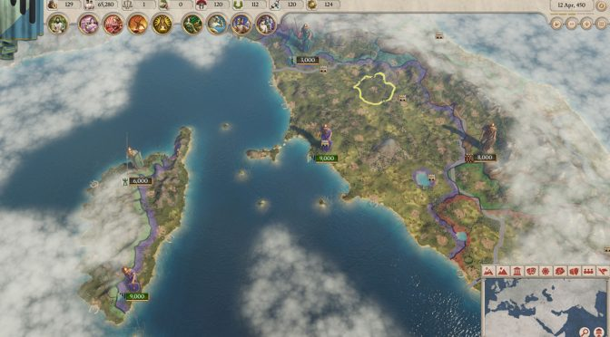 Imperator: Rome is a new Roman themed strategy game from Paradox Interactive