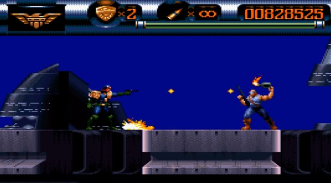 Classic 16-bit Judge Dredd platformer, Judge Dredd 95, is now available on Steam