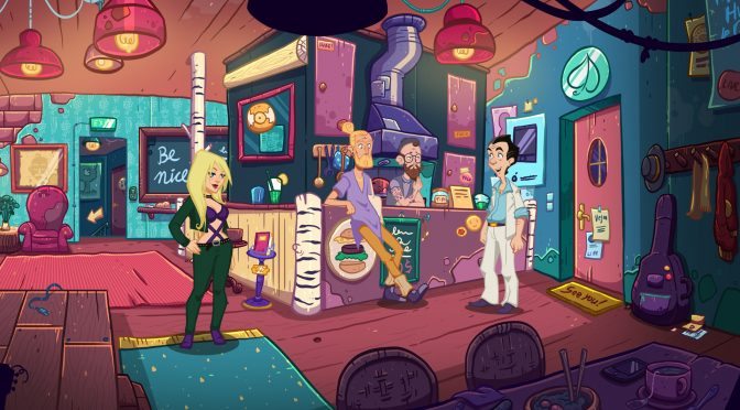 New gameplay trailer released for Leisure Suit Larry – Wet Dreams Don't Dry