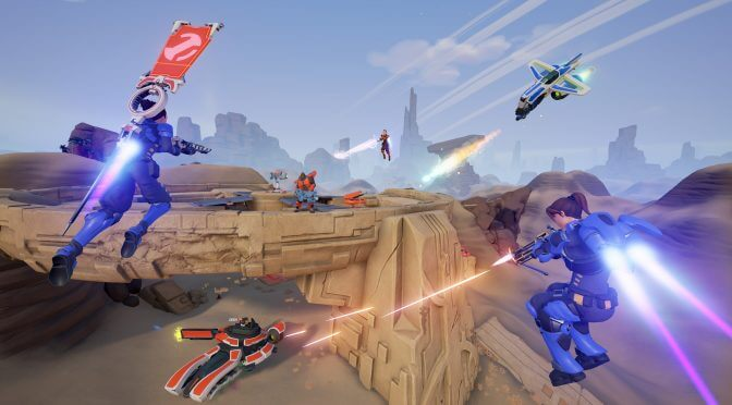 Midair, Tribes-inspired fast-paced jetpack shooter, goes free to play on May 3rd