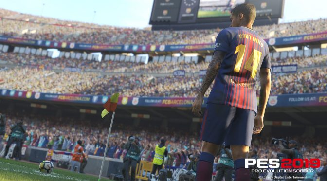 Pro Evolution Soccer 2019 officially announced, first official details and screenshots