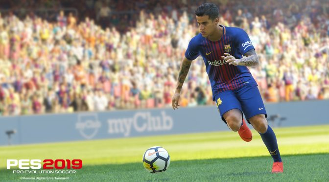 Pro Evolution Soccer 2019 Lite, free to play version, releases on December 13th