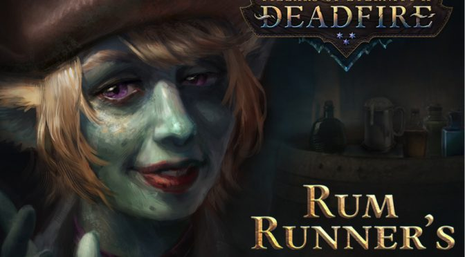 Pillars of Eternity 2 free DLC, Rum Runner's Pack, is now available