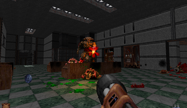 New version of the mash-up of Doom and Blood, Blood: Dead on