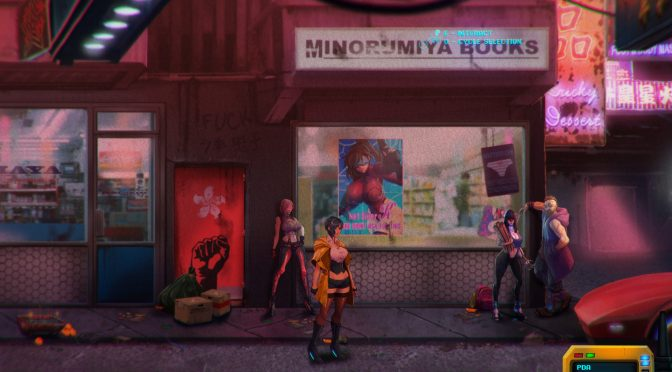 Sense: A Cyberpunk Story is a 2.5D point and click adventure game, first details and screenshots