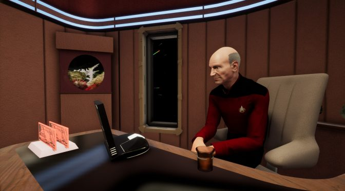 Stage 9 is a fan remake of Star Trek The Next Generation in Unreal Engine 4, available for download