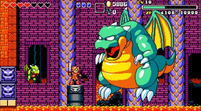 Aggelos is a Wonder Boy in Monster World-inspired retro platformer, available now on the PC