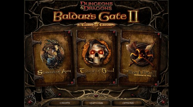Baldur's Gate II: Enhanced Edition patch 2.5 comes with more than 500 fixes and features