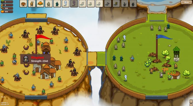 Circle Empires is a new real-time strategy game, coming out in August 2018