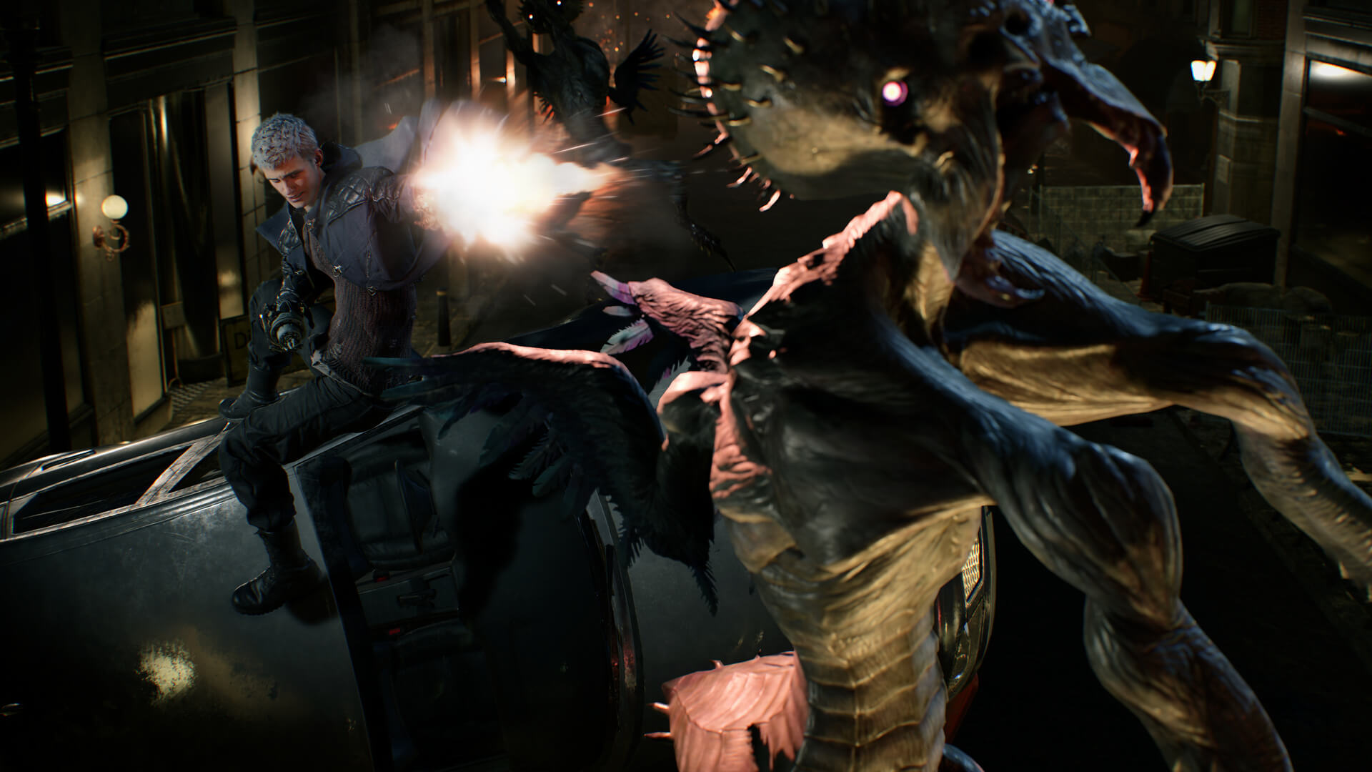 First official details and screenshots for Devil May Cry 5