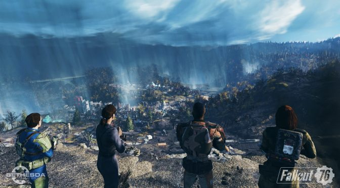 Fallout 76 gets its first official multiplayer gameplay video