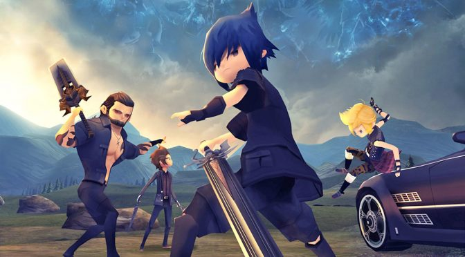 Final Fantasy XV Pocket Edition is now available on the PC