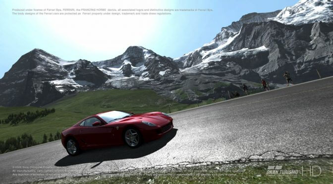 Gran Turismo HD Concept and Yakuza: Dead Souls running on the PC thanks to the PS3 emulator, RPCS3