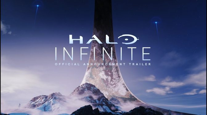 Halo Infinite teaser trailer header
