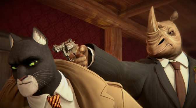 Here are 25 minutes of brand new gameplay footage from BLACKSAD: Under the Skin