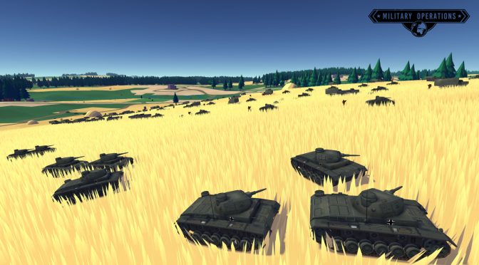 Military Operations: Benchmark is now available, pushes 50K troops, 10K units and 30K kilometres squared of landscape