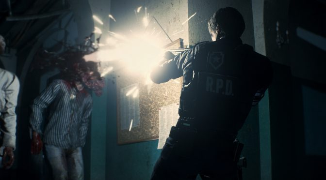 This mod finally allows you to permanently kill zombies with one headshot in Resident Evil 2 Remake
