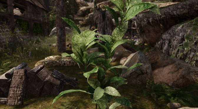 Skyrim 3D Landscapes mod features more than 90 high quality 3D models for trees, flowers and plants
