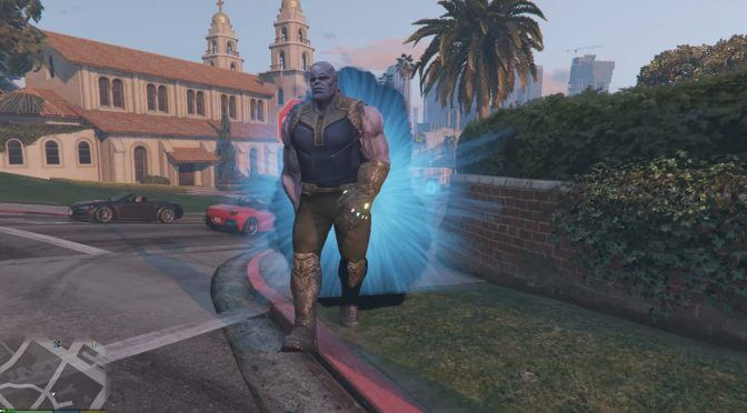 Marvel Thanos mod for Grand Theft Auto V is now available