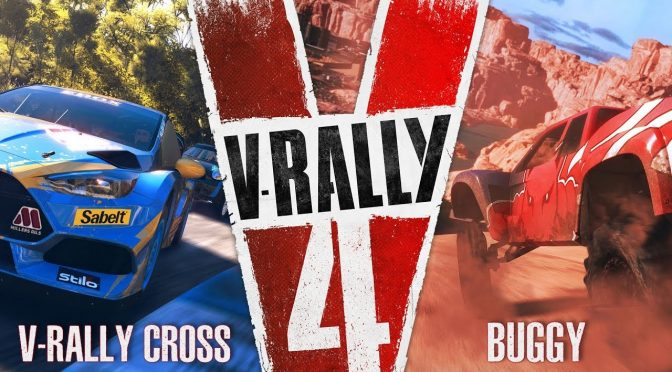 New trailer for V-Rally 4 showcases V-Rally Cross and Buggy