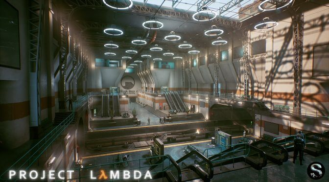 Project Lambda, Half Life in Unreal Engine 4 fan project, is