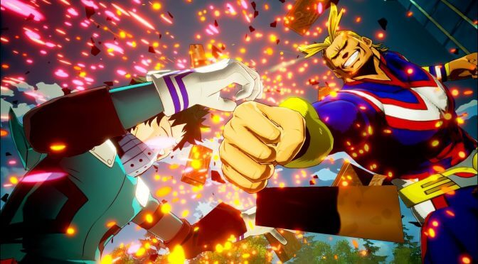 Story trailer released for My Hero One's Justice