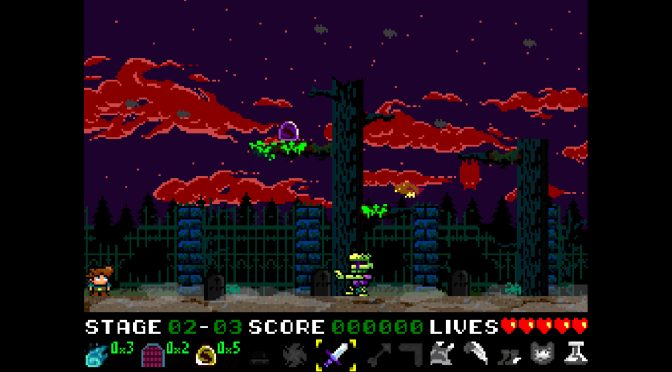 Retro-style action platformer, Nogalious, is now available on Steam
