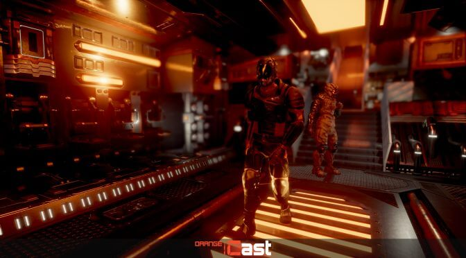 Orange Cast is an indie third-person action adventure RPG inspired by the Mass Effect series