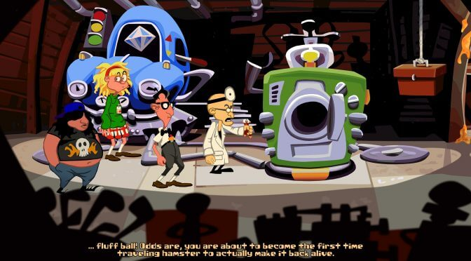 Return of the Tentacle, Day of the Tentacle fan sequel, is now available for download