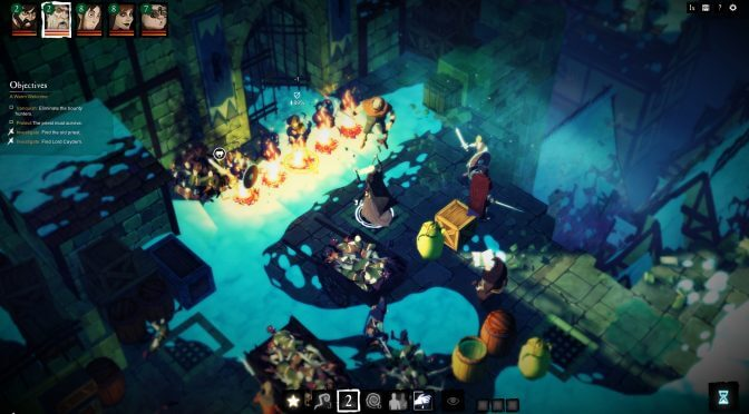 Turn-based tactical RPG, Sword Legacy: Omen, releases on August 13th