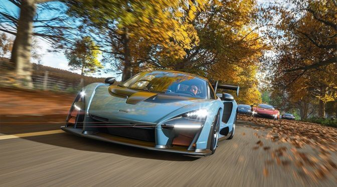 Forza Horizon 4 gets an official launch trailer
