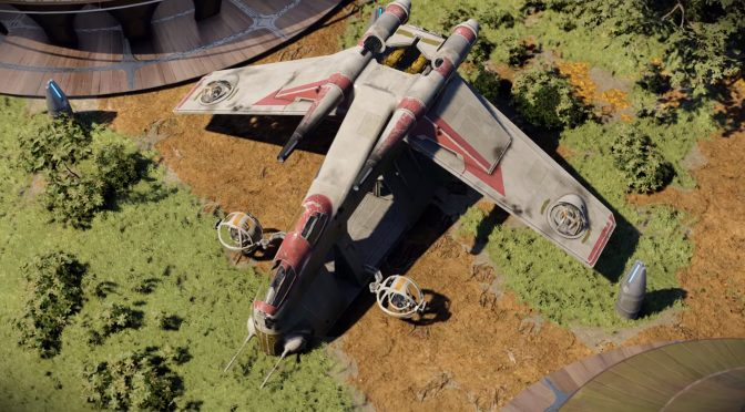 Star Wars Kashyyyk Docks showcased in Unreal Engine 4