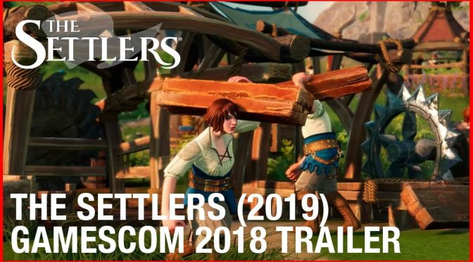 New The Settlers game coming to the PC in 2019, will be powered by