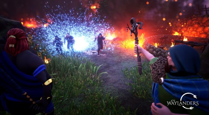The Waylanders is a new time travelling fantasy RPG inspired by Dragon Age: Origins and Neverwinter Nights 2