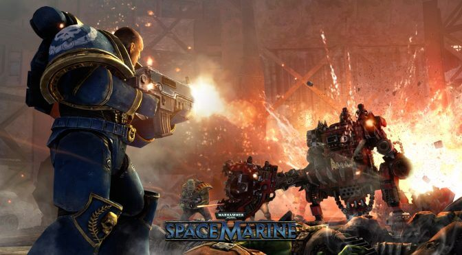 Warhammer 40,000: Space Marine is available for free on Humble Bundle until September 1st