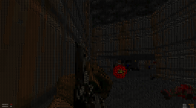 """1337d00m lets you experience the classic Doom in true """"The Matrix"""" ASCII mode in Unity Engine"""