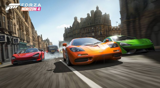 Forza Horizon 4 will receive a Battle Royale Mode, called The Eliminator, later today