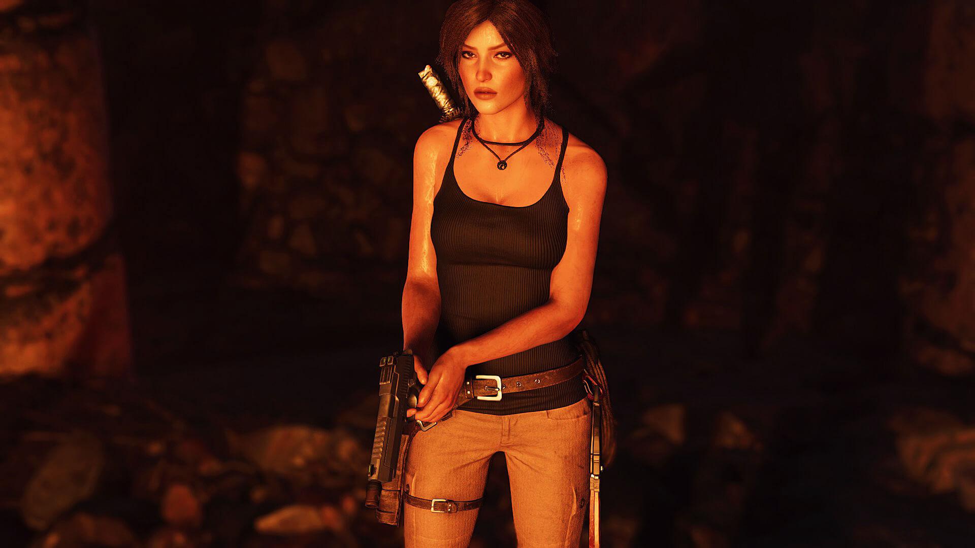 Tomb Raider 2013 Lara Croft Nude Mod - YouTube