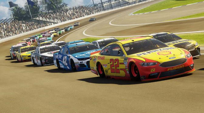 First official gameplay teaser video released for NASCAR Heat 4