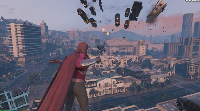 X-men's Magneto comes to Grand Theft Auto 5 with all of his powers thanks to this mod