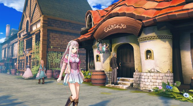Atelier Lulua: The Scion of Arland is coming to the PC in Spring 2019