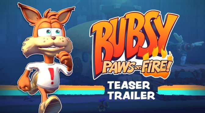 Bubsy: Paws on Fire announced, gets a teaser trailer