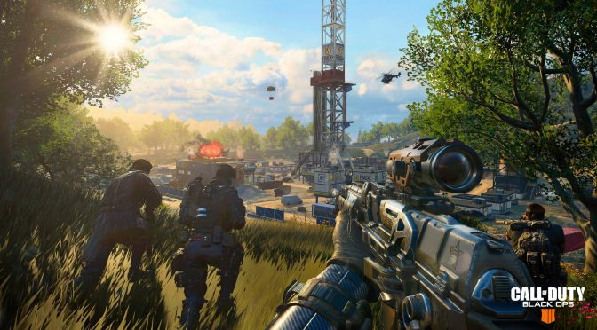 Call of Duty: Black Ops 4's battle royale mode, Blackout, is free to play for the entire month