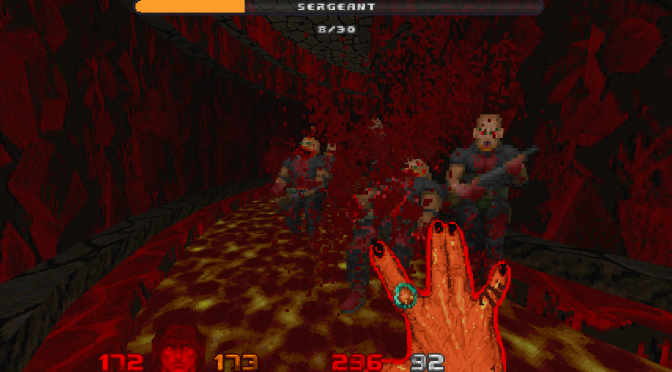 DaggerHell Overkill is a mod for Doom 2 inspired by Devil Daggers, available for download