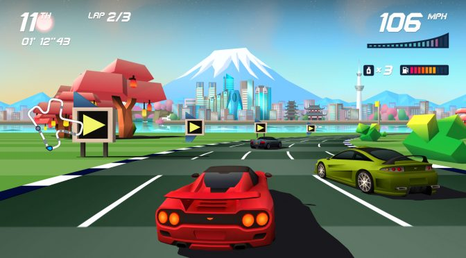 Demo released for arcade racing game, Horizon Chase Turbo