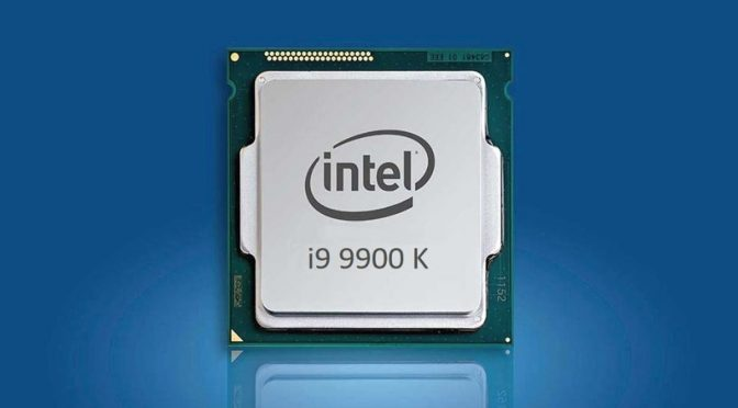 Intel Core i9 9900K screenshot