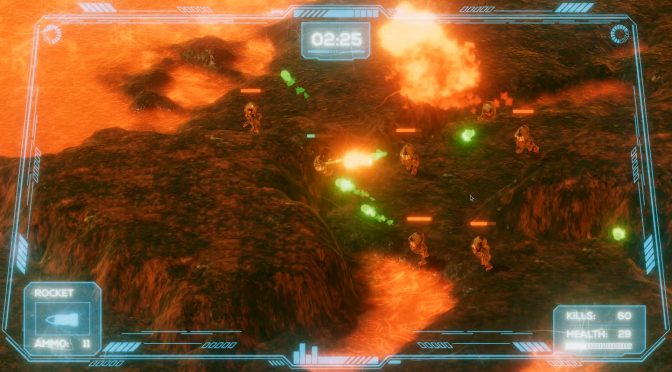 Miles Infernum is a new free isometric arcade shooter that is available for download